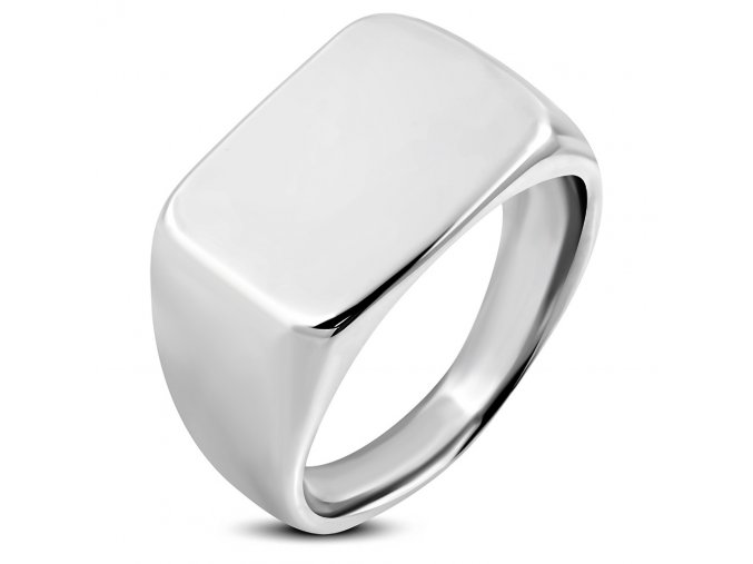 Prsten s plochou chirurgická ocel RMT730