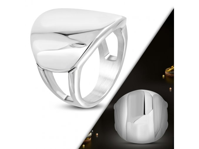 Prsten s plochou chirurgická ocel WRP264