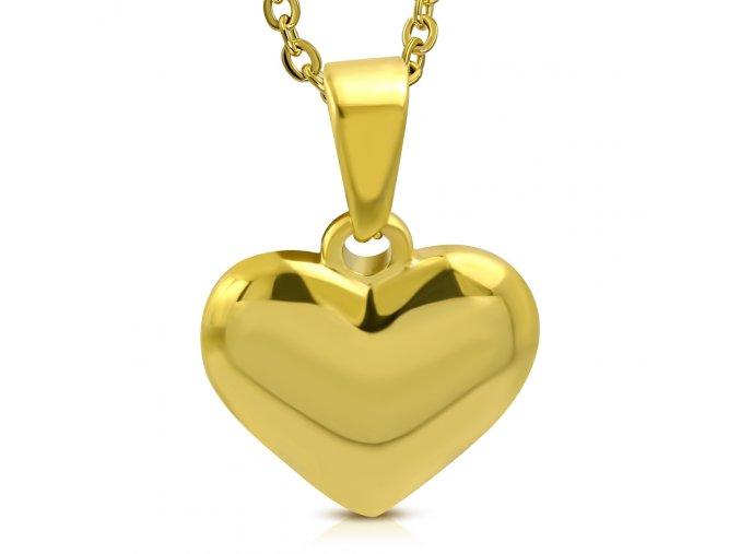 Přívěsek Srdíčko zlaté