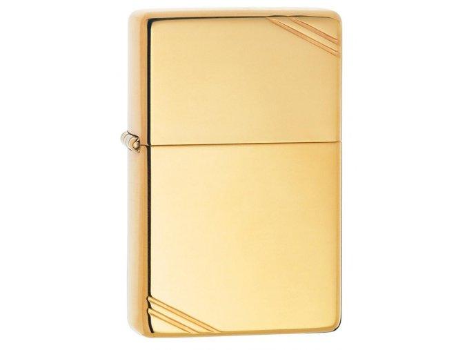 Zippo Vintage High polish Brass