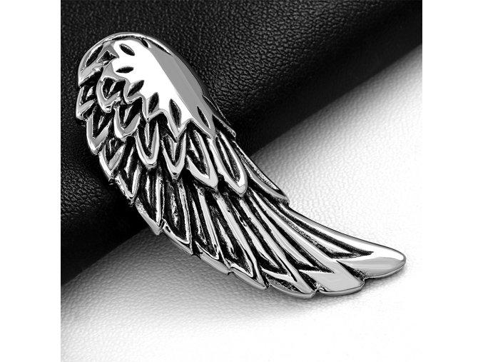Přívěsek z chirurgické oceli - Andělské Křídlo HPV140