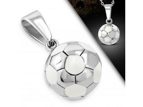 Přívěšek z chirurgické oceli - Fotbalový míč