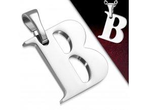Přívěsek z chirurgické oceli - Písmeno B