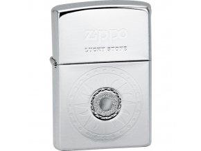 Zapalovač Zippo Lucky Stone white 28169