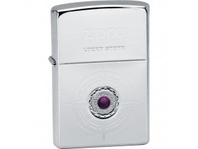 Zapalovač Zippo Lucky Stone violet 28168
