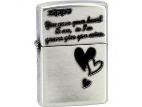 Zapalovač Zippo Triple Heart 28193