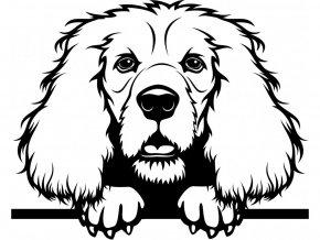 Samolepka pes Kokršpaněl