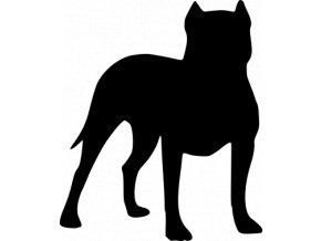 Samolepka pes - Pitbull