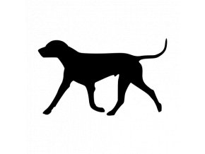 Samolepka pes - Ohař