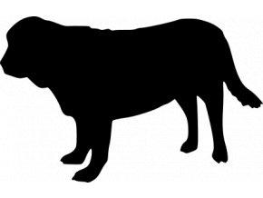 Samolepka pes - Španělský mastin