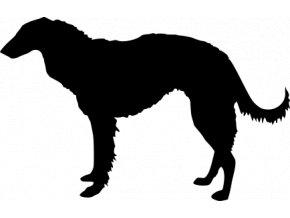 Samolepka pes - Barzoj