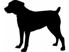 Samolepka pes - Boebordel