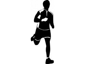 Samolepka - Běžec trenér