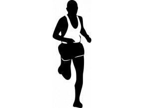 Samolepka - Běžec Maraton