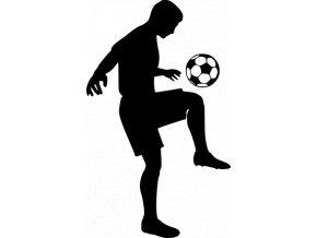 Samolepka - Fotbal - fotbalový trenér