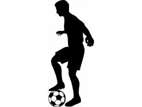 Samolepka - Fotbal - fotbalista Stoper