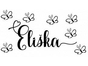 Samolepky na zeď - Eliška