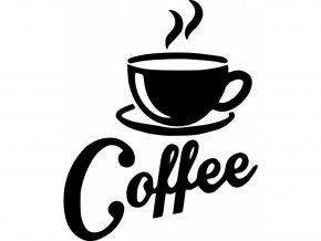 Samolepky na zeď - Káva