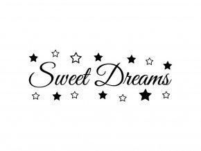 Samolepka na zeď - Sweet Dreams
