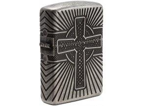 Benzínové Zippo Celtic Cross 27153