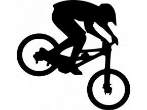Samolepka Cyklistika - MTB