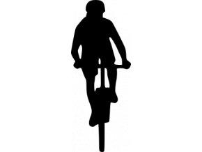 Samolepka Cyklistika - Cyklistka