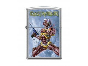 Zippo Iron Maiden 8886 SOMEWHERE BACK IN TIME THE BEST OF