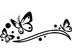 Samolepka - Motýli