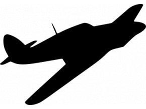 Samolepka - Letadlo