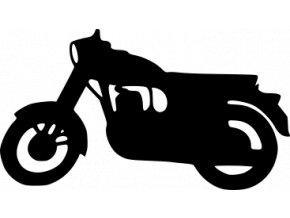 Samolepka na auto - Jawa