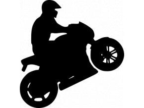 Samolepka na auto - Motorky