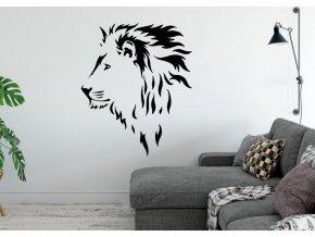 Samolepka na zeď Lev 5