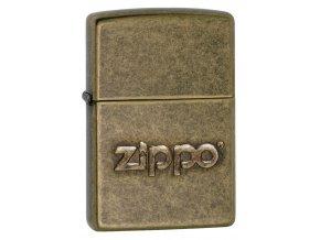 Zapalovač Zippo Stamp Antique Brass 29001