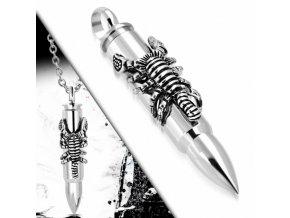 """<img src=""""www.gravon.cz/přívěšek.jpg"""" alt=""""Přívěšek z chirurgické oceli - Scorpion Bullet SPK194T"""">"""