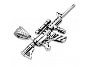 """<img src=""""www.gravon.cz/přívěšek.jpg"""" alt=""""Přívěsek útočná puška M16 chirurgická ocel"""">"""