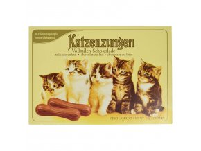 Katzenzungen mléčné čokoládové jazýčky 100g