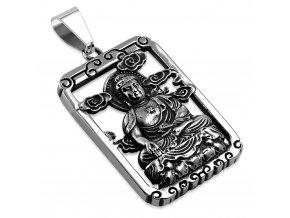 Přívěsek Budha chirurgická ocel