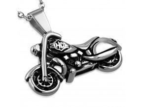 Přívěsek motorka Harley chirurgická ocel