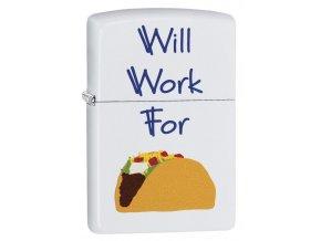 """<img src=""""www.gravon.cz/zippo.jpg"""" alt=""""Zapalovač Zippo Will Work For Tacos 29517"""">"""