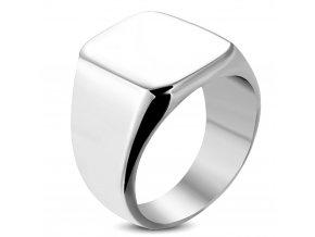 Prsten s plochou chirurgická ocel RMT038