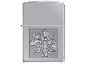 Zippo Czech Lion In Square 22650