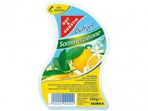 GG Gelový osvěžovač vzduchu s letní vůní citronu 150g