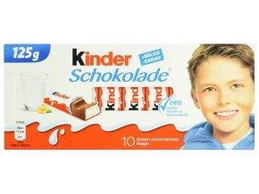 Ferrero Kinder čokoláda 10ks 125g