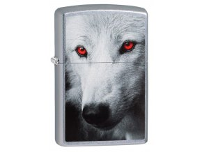 Zippo Wolf whit Red Eyes 28877