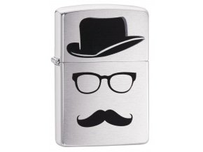 Zippo Moustache and Hat 28648
