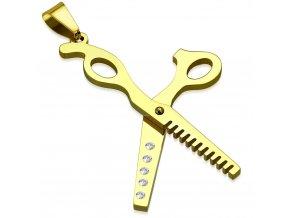 Přívěsek prostřihovací Trixie nůžky