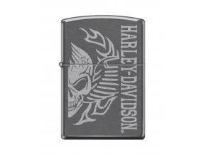 Zippo 0468 Harley Davidson-Skull Gray Dusk
