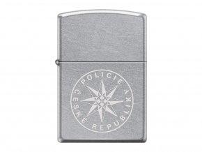 Zippo Policie In Laser 25482