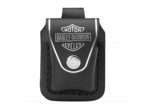 Pouzdro na Zippo zapalovač Harley Davidson