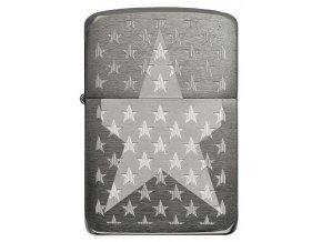 Zippo 1941 Black Ice Stars 25500